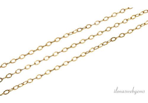 10cm 14k/20 Gold filled ketting