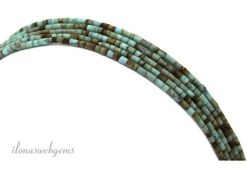 Tibetan Turquoise Minis um 1,5 mm