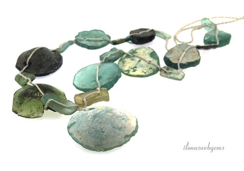Römische Glasperlen
