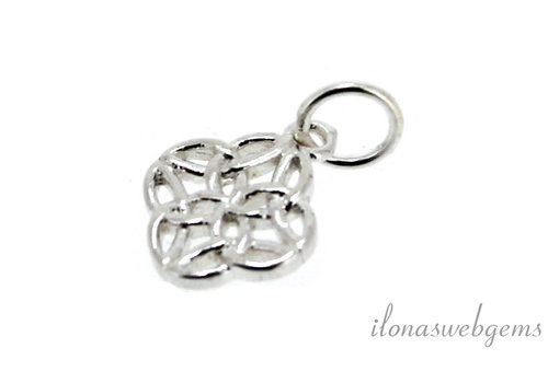 Sterling silver charm around 10mm