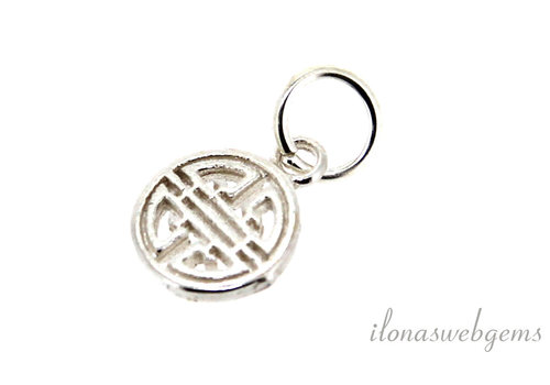 Sterling silver charm around 8mm