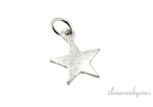 Sterling silver charm star around 8mm