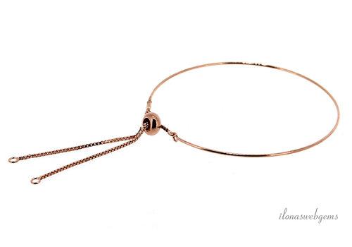 Armband rosé Vermeil1.2