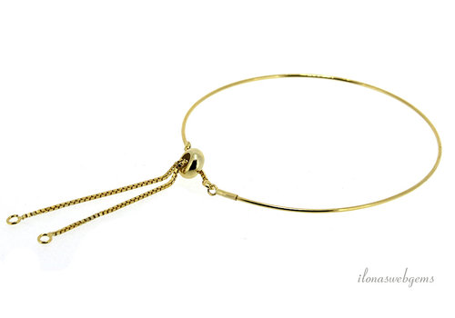 Vermeil bangle minimalist