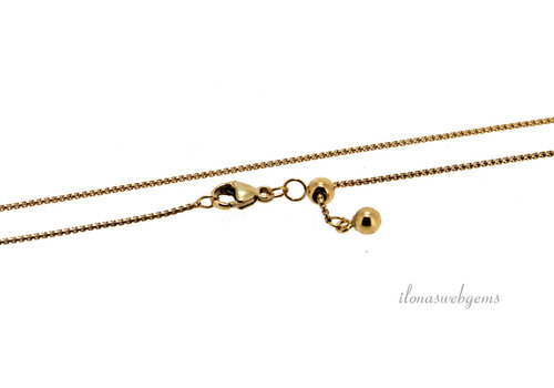 Venetian Gold filled Chain round with ball
