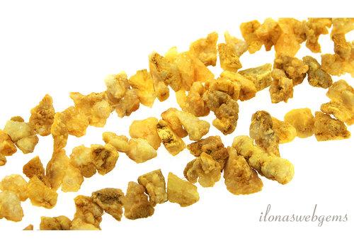 Druzy Achat Perlen grob auf und absteigend von ca. 9x8 bis 18x14mm