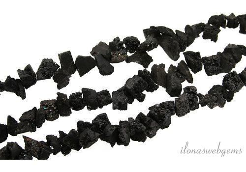Druzy Achat Perlen ungefähr 15x10mm