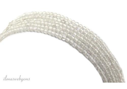 Rainbow moonstone beads around 2mm