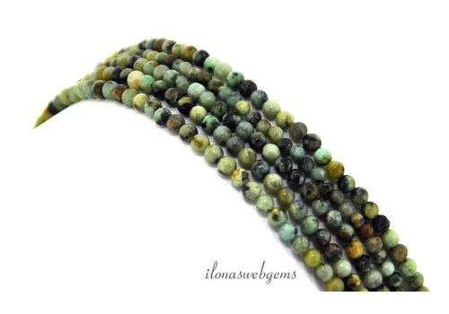 African Turquoise beads mini around 2.2mm