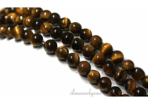 Tigerauge Perlen um 5mm