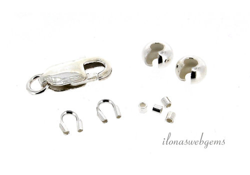 Beading set sterling silver Small