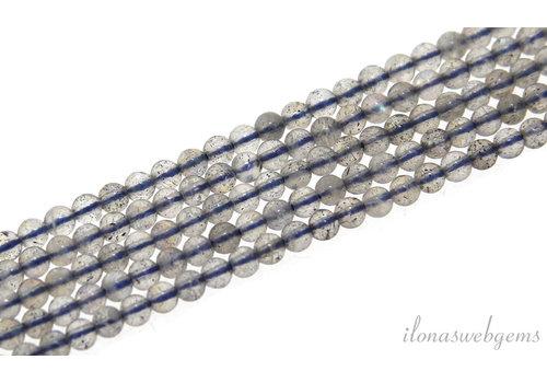Labradorite beads around 2 mm