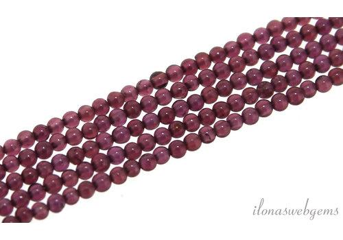 Purple Garnet beads around mini around 2mm