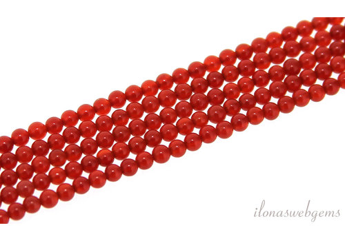 Cornaline beads around mini around 2mm