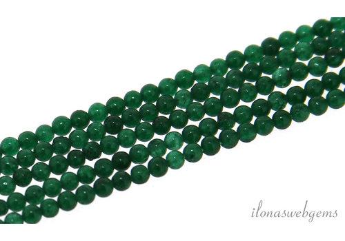 Jade green beads around mini around 2mm
