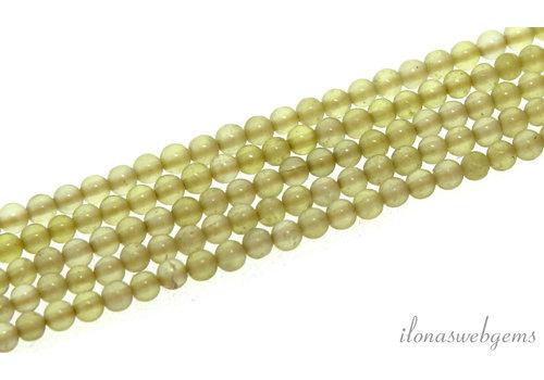 Lemon Quartz beads around mini around 2mm
