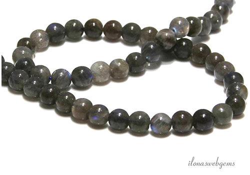 Labradorit Perlen etwa 8mm AA Qualität