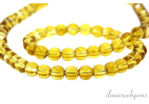 Citrine beads around ca. 5.5mm