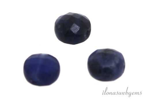Sodaliet coin ca. 7.8x5.1mm