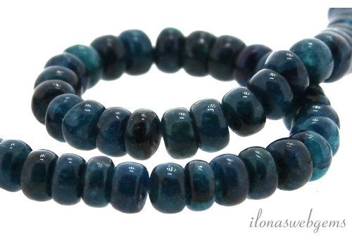 Kyanite beads rondel around 6x4mm