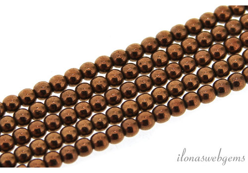 Hematite beads / spacers around ca. 3.3mm