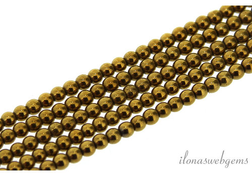 Hematite beads / spacers around 2.5 mm