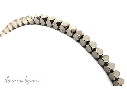 Hematiet kralen armbandje ca. 3.5mm