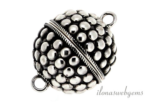 Sterling silver magnetic clasp approx. 20 mm