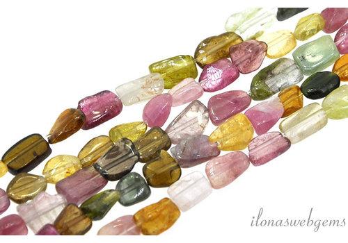 Toemalijn brick and brack beads ca. 7x5mm