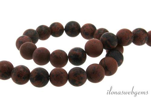Jasper beads around mat about 12mm