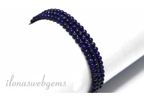 Lapis lazuli kralen rond ca. 3mm