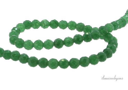 Aventurine beads facet around 6mm