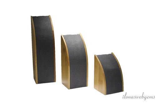 Bamboe sieraden display set voor kettinkjes
