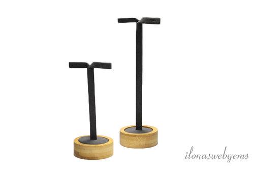 Bamboe displays set voor oorbellen