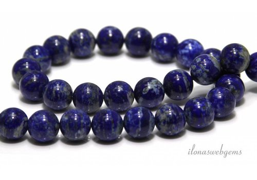 Lapis lazuli kralen rond ca. 8mm