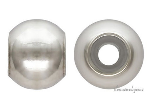 Sterling silver smart bead approx. 4 mm