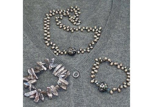 Inspiration: Abalone with Pearl Necklace!