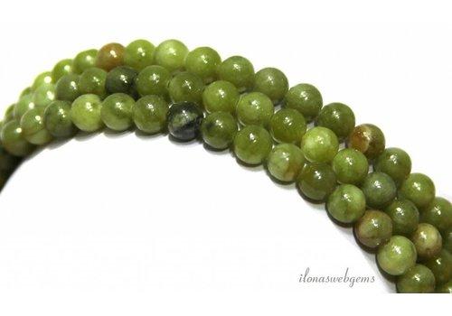Jade kralen rond ca. 4.5mm