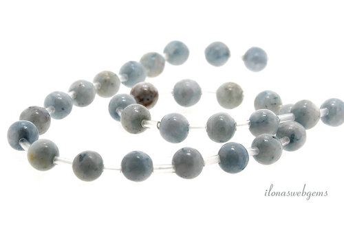 Selenite beads around 8mm