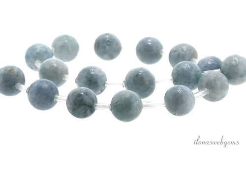 Selenite beads around 10mm