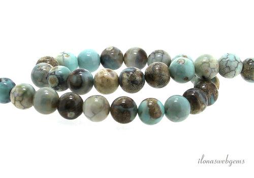 Terra Agate beads around 10mm