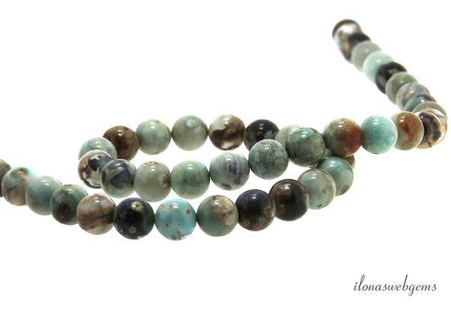 Terra Agate beads around 8mm