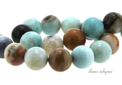 Amazonite beads around 14mm