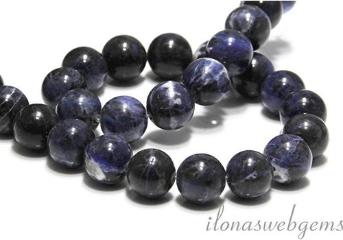 Sodalite beads around 8 mm