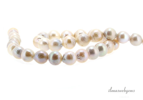 Freshwater pearls approx. 8.5-10.5mm