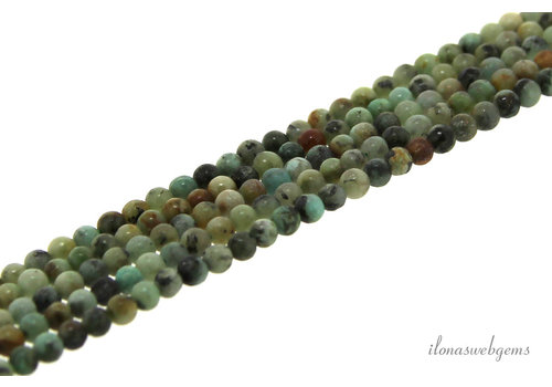 Afrikanische Türkis Perlen Mini ca. 2mm