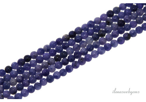 Sodalite beads round mini about 2mm