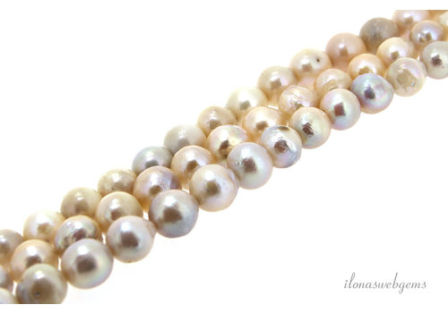 Freshwater pearls about 10mm