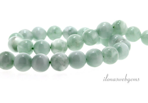 Russian Amazonite beads about 8mm