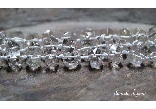 Herkimer Diamant kralen ca. 15x10mm